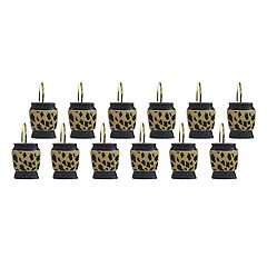 Popular Bath Wild Life 12-pack Shower Curtain Hooks