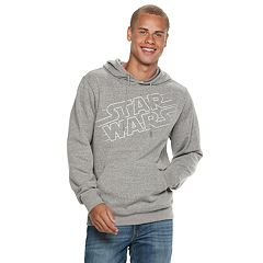 Men's Star Wars Logo Pull-Over Hoodie