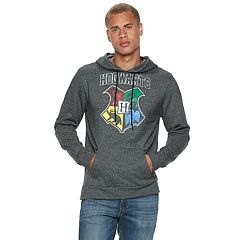 Men's Harry Potter Hogwarts Pull-Over Hoodie