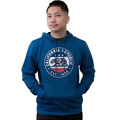 Men's California Republic Pull-Over Hoodie