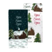 St. Nicholas Square® Home Sweet Home Kitchen Towel 2-pack
