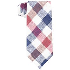 Men's Croft & Barrow®  Patterned Linen Tie