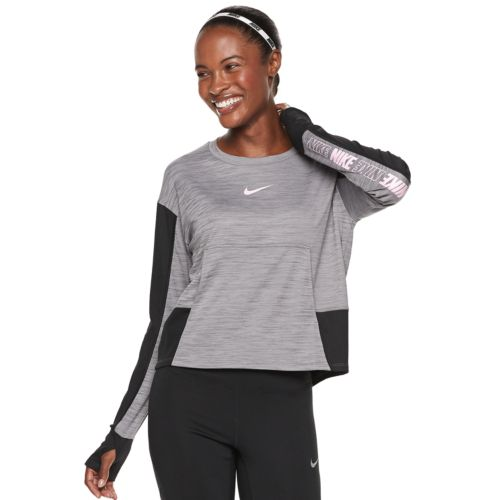 Women's Nike Pacer Graphic Running Top by Kohl's