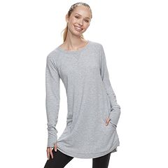 Women's Tek Gear® French Terry Thumb Hole Tunic