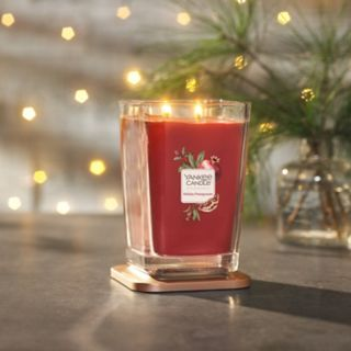 Yankee Candle Elevation Collection Holiday Pomegranate 19.5-oz. Candle Jar