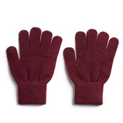 Women's SO® Solid Tech Knit Gloves