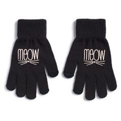 Women's SO® 'Meow' Tech Knit Gloves