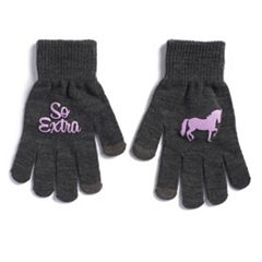 Women's SO® 'So Extra' Unicorn Tech Knit Gloves