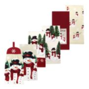 St. Nicholas Square® Traditional Yuletide Kitchen Towel 6-pack