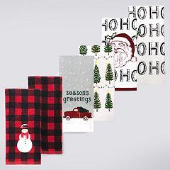 St. Nicholas Square® Modern Farmhouse Kitchen Towel 6-pack
