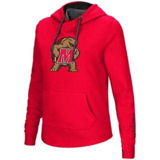 Women's Maryland Terrapins Crossover Hoodie