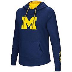 Women's Michigan Wolverines Crossover Hoodie