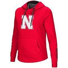 Women's Nebraska Cornhuskers Crossover Hoodie