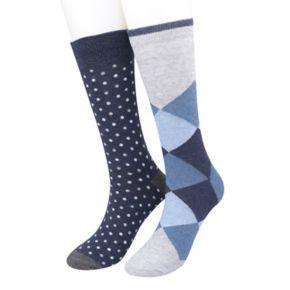 Men's Apt. 9® 2-pack Crew Socks