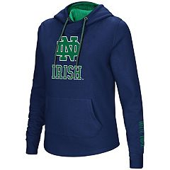 Women's Notre Dame Fighting Irish Crossover Hoodie