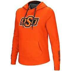 Women's Oklahoma State Cowboys Crossover Hoodie