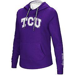 Women's TCU Horned Frogs Crossover Hoodie