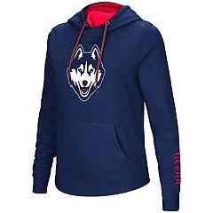 Women's UConn Huskies Crossover Hoodie