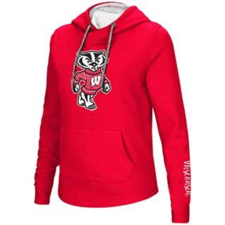 Women's Wisconsin Badgers Crossover Hoodie