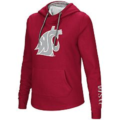 Women's Washington State Cougars Crossover Hoodie
