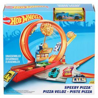 Hot Wheels Speedy Pizza Playset
