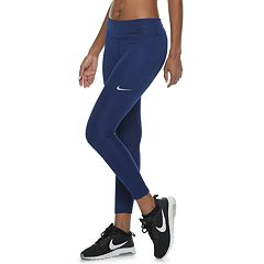Women's Nike Fast Running Mid-Rise Crop Leggings