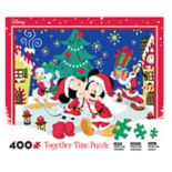 Disney's Mickey Mouse & Minnie Mouse 400-piece Christmas Puzzle
