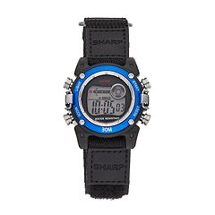 Sharp Kids' Digital Chronograph Watch - SHR3002KL