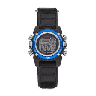 Sharp Kids' Digital Chronograph Watch - SHR3002KL