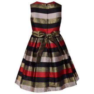 Girls 7-16 & Plus Size Bonnie Jean Mitered Dress