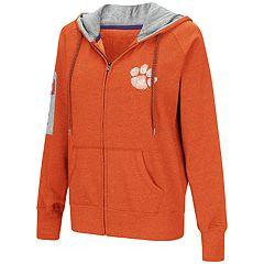 Women's Clemson Tigers Platform Fleece Hoodie