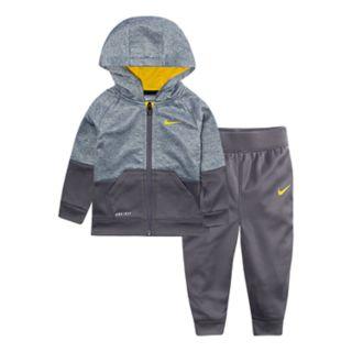 Baby Boy Nike Colorblock Zip Hoodie & Jogger Pants Set