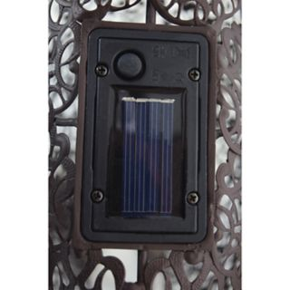 22-in. Solar Powered LED Peacock Garden Decor
