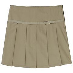 Girls 4-20 French Toast School Uniform Pleated Skort