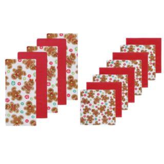 St. Nicholas Square® Gingerbread Kitchen Towel & Dishcloth Set