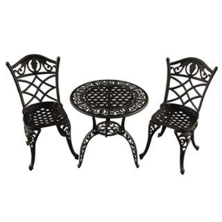 Grape Vineyard Indoor / Outdoor Chair & Bistro Table 3-piece Set