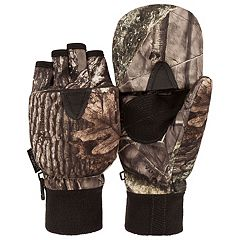 Men's Huntworth Camo Convertible Flip-Top Mittens