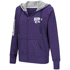 Women's Kansas State Wildcats Platform Fleece Hoodie