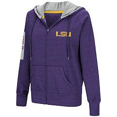 Women's LSU Tigers Platform Fleece Hoodie