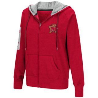 Women's Maryland Terrapins Platform Fleece Hoodie