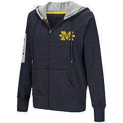 Women's Michigan Wolverines Platform Fleece Hoodie