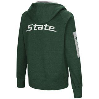 Women's Michigan State Spartans Platform Fleece Hoodie