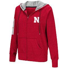 Women's Nebraska Cornhuskers Platform Fleece Hoodie