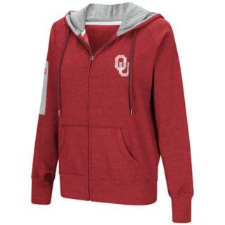 Women's Oklahoma Sooners Platform Fleece Hoodie