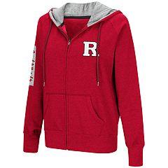 Women's Rutgers Scarlet Knights Platform Fleece Hoodie