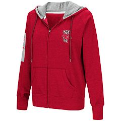 Women's Wisconsin Badgers Platform Fleece Hoodie