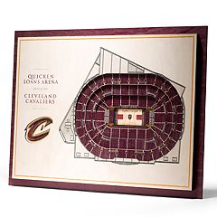 Cleveland Cavaliers 3D Stadium Wall Art