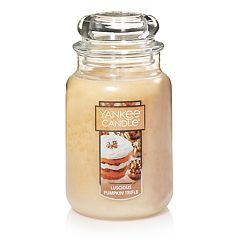 Yankee Candle Luscious Pumpkin Trifle 22-oz. Large Candle Jar