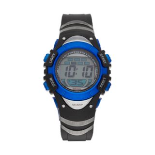 Sharp Kids' Digital Chronograph Watch - SHR3001KL