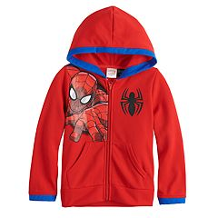 Toddler Boy Marvel Spider-Man Zip Hoodie
